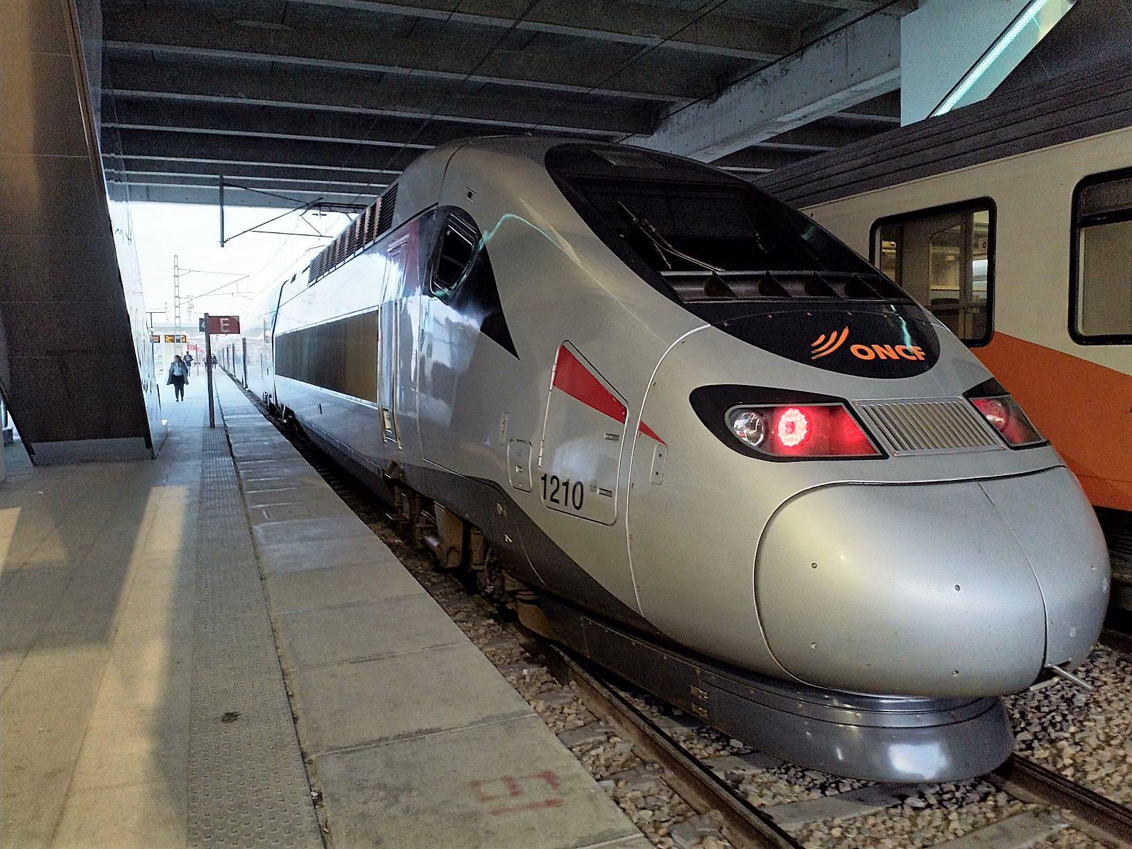 Obrázek: TGV v Maroku